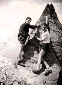 <font color =gren><b>Youthful Mount Fallère</font> <i>(3061m)</i></b> 1965