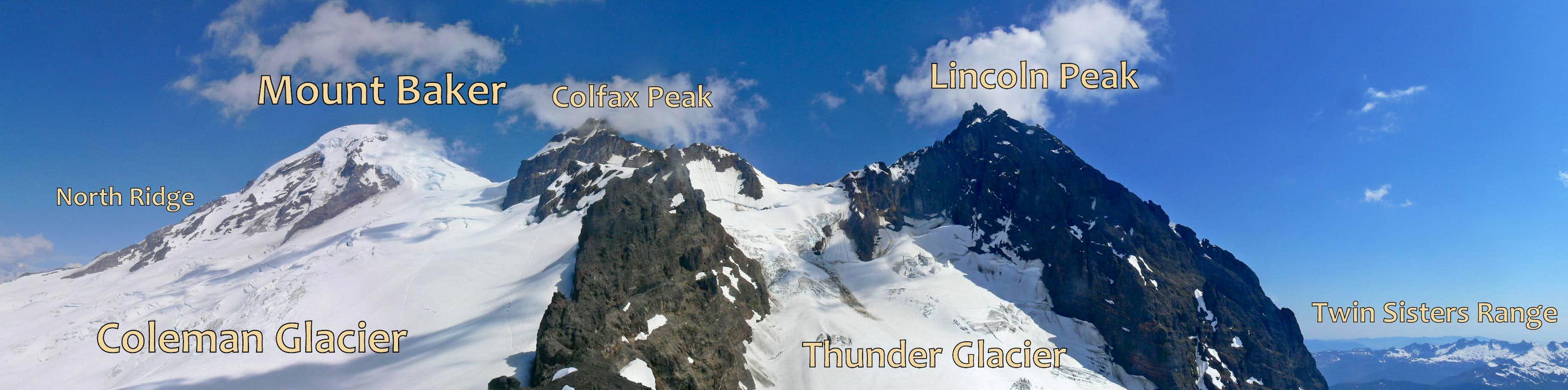Colfax Peak Climbing Hiking Mountaineering SummitPost - Us map baker peak