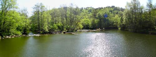 Dyje river near Šobes