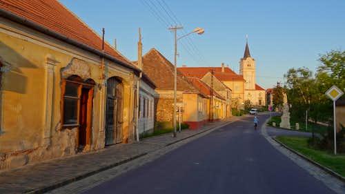 Houses in Šatov