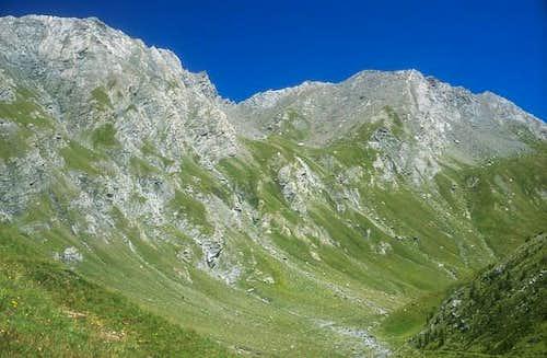 Mt Barifredo 3028m, Punta...