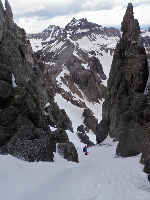 North Couloir on Potosi