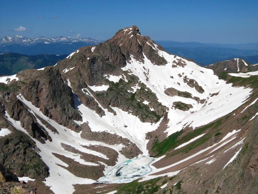 """Hail Peak"", ""Mount Silverthorne"", ""Zodiac View"" & Wingle Ridge"