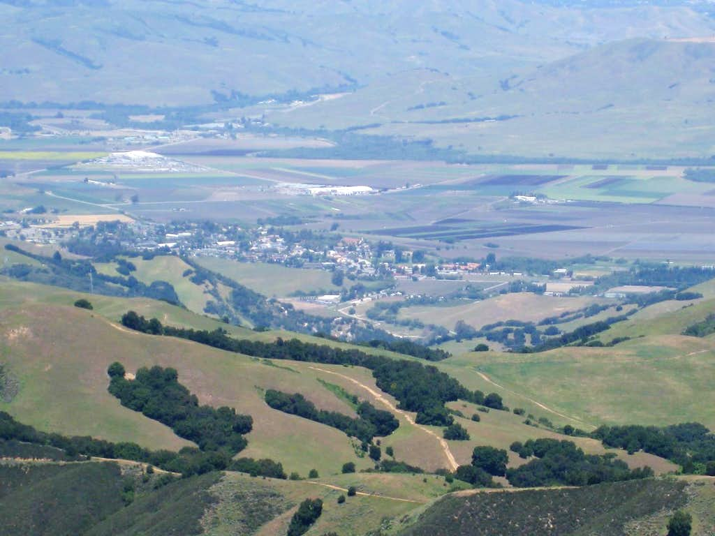 View Towards San Juan Bautista