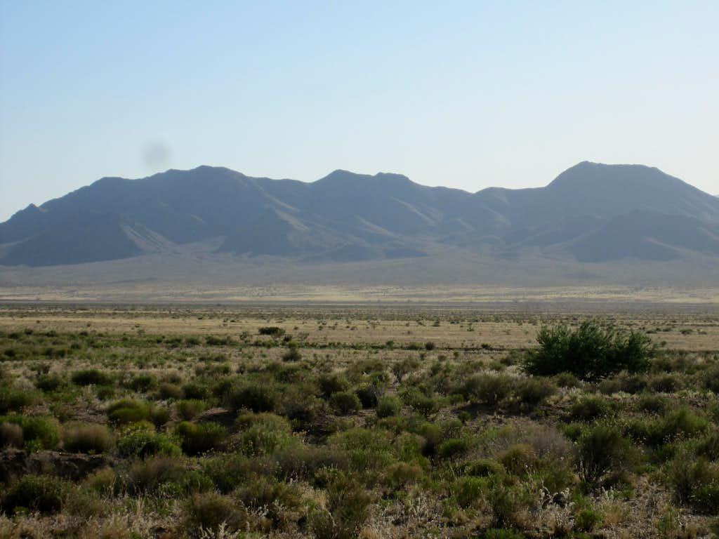 Long Mountain Range