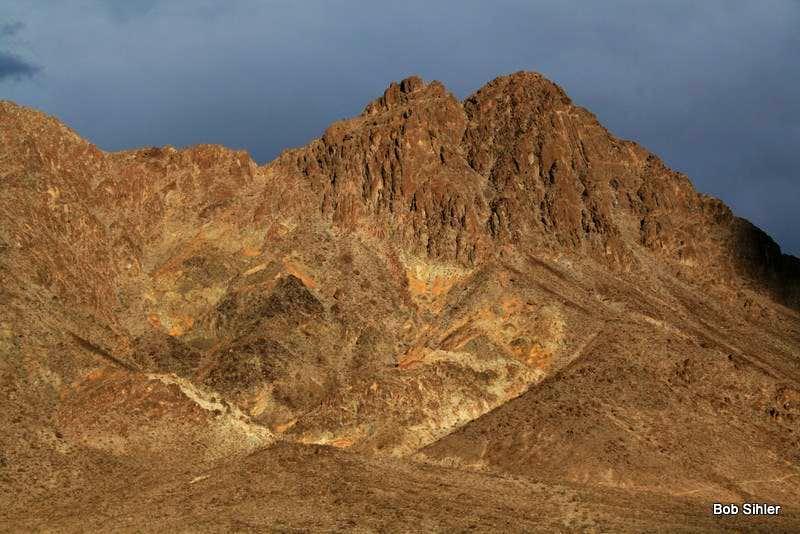 Ubehebe-Little Ubehebe Saddle and Little Ubehebe Peak