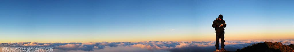Me - Selado Peak summit, 2009.