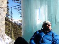 Ice Cave Belay