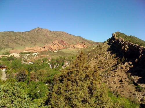 Mount Morrison from Mount Glennon.