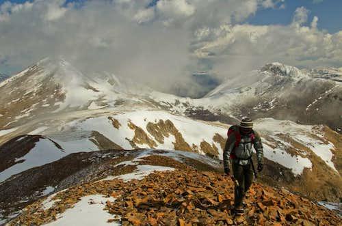 Hiking Boreas Mt.