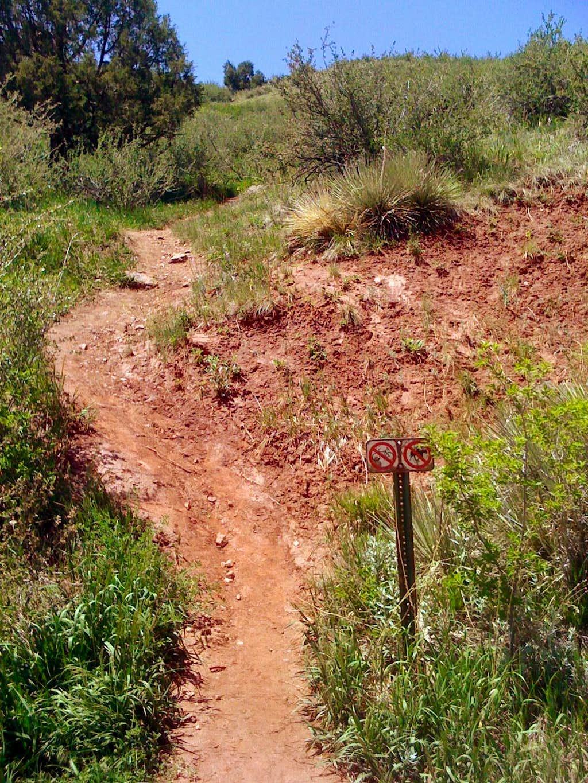 South ridge trailhead