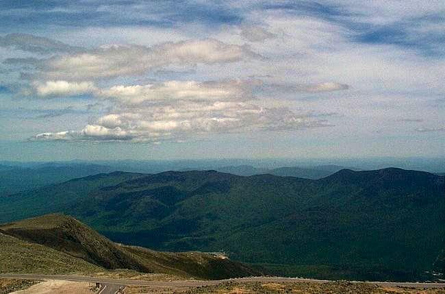 Views from Mt. Washington on...