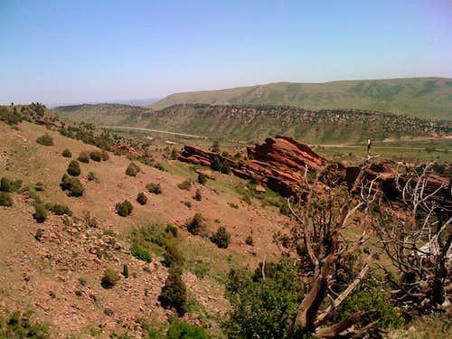 Dinosaur Ridge and Green Mountain