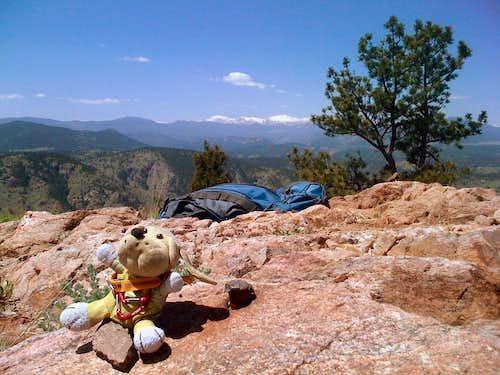 Mount Morrison summit.