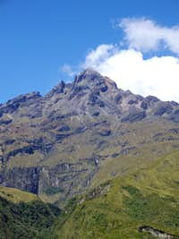 Cotacachi seen from Lago the Quicocha