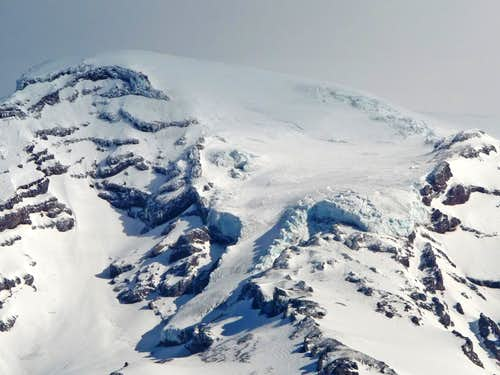 Kautz Glacier during Spring