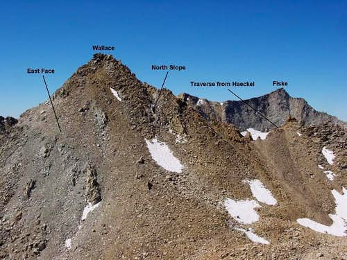 Mt. Wallace viewed from the...