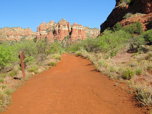 On Bell Rock Pathway