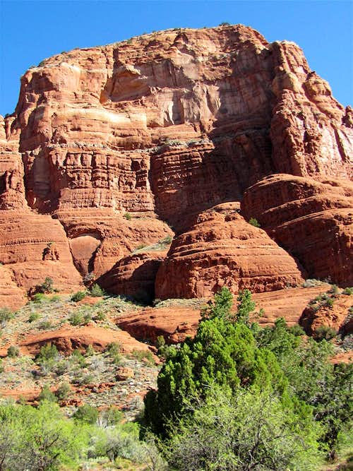 Courthouse Butte, south face