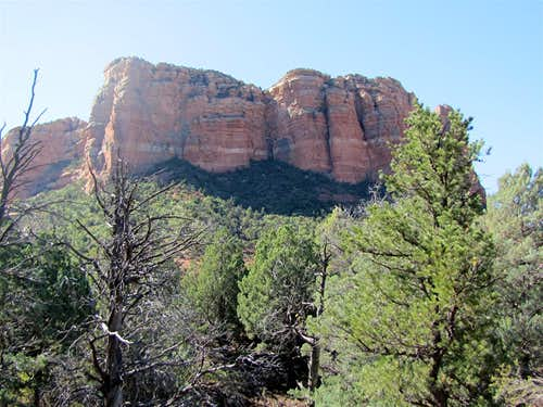 Courthouse Butte, north face