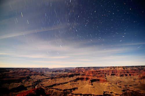 Grand Canyon Moonlight