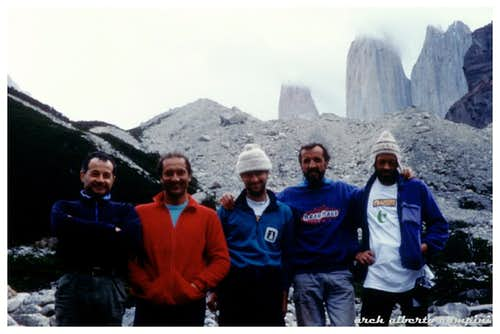Back from Torre Central del Paine, 1992