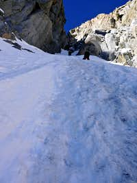 Into the Right Couloir