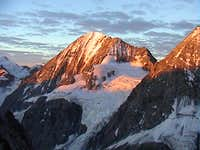 Königspitze at sunrise. Photo...