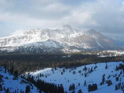 Red Lake Peak as seen from...