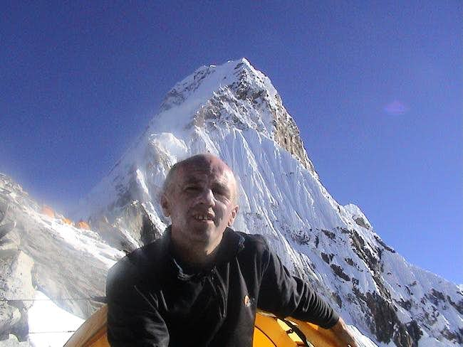 Ama Dablam from Camp 1 (5750m)