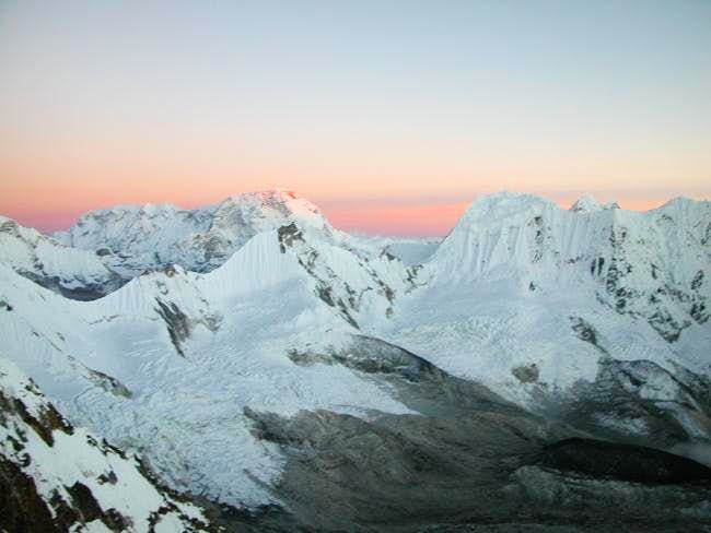 Sunset from Camp 2 (6000m)