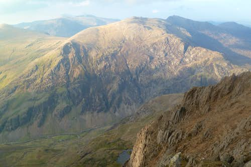 Glyder Fawr and the Parson\'s Nose
