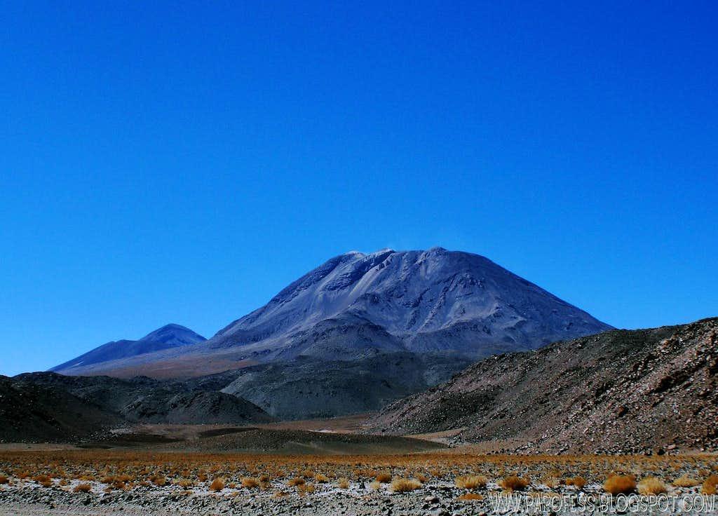 San Pedro volcano: 6.145!