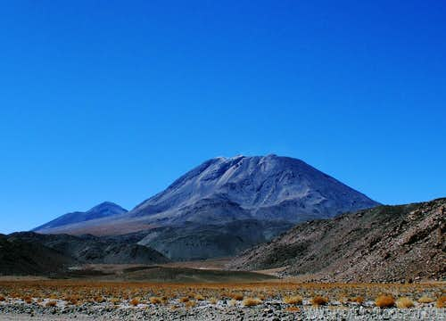 San Pedro volcano (Chile)