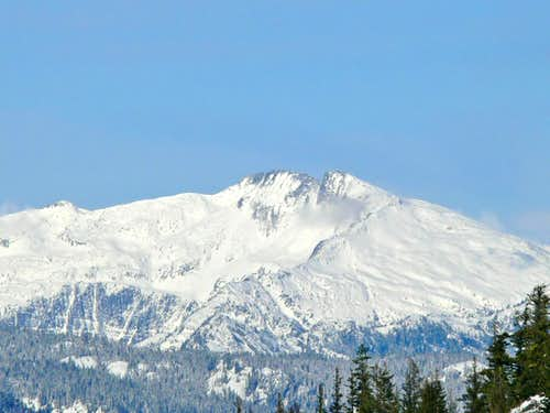 Mount Hinman in the Distance