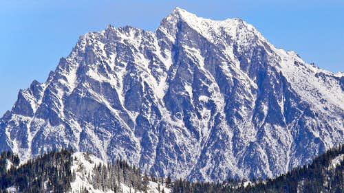 Mount Stuart's South Face