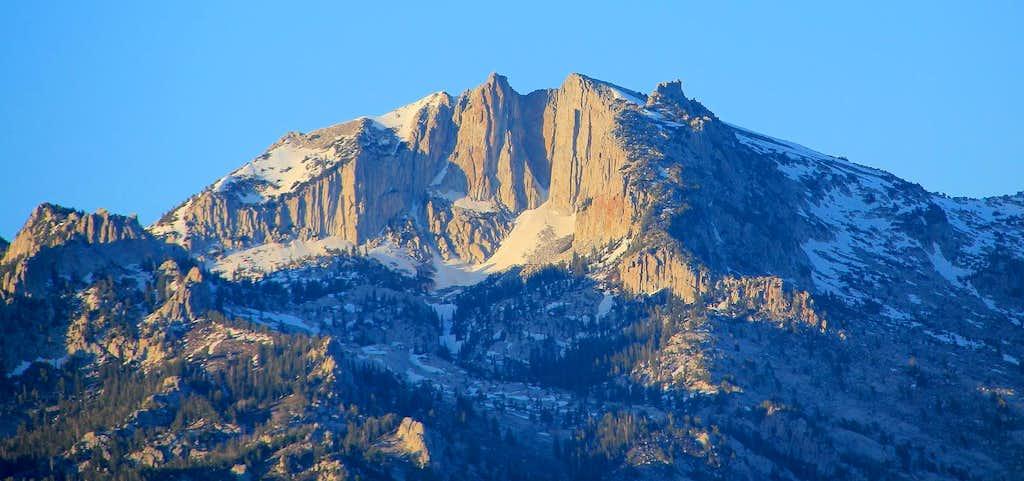 Sunset on Lone Peak.