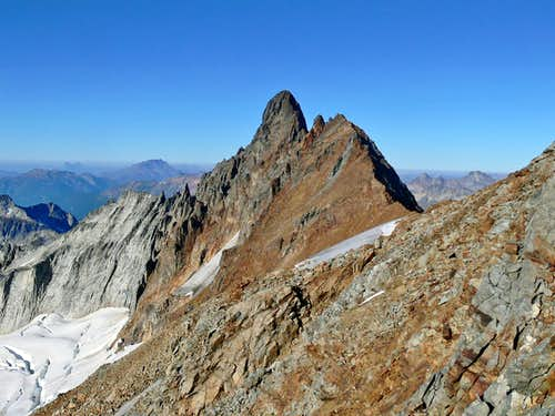 Boston Peak's South Face