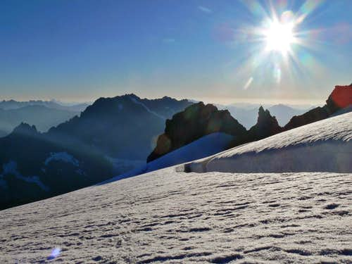 Sahale Mountain September of 2009