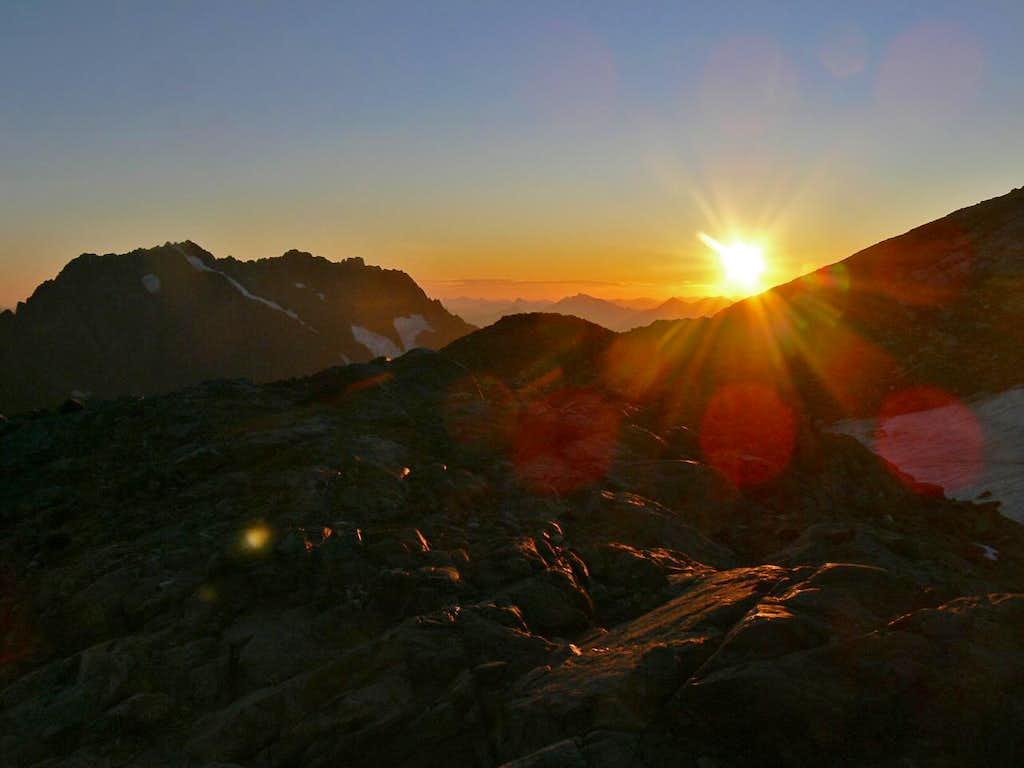 Sunset from Sahale