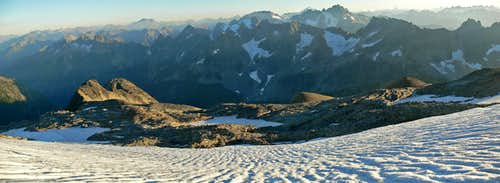 Sahale View Panorama
