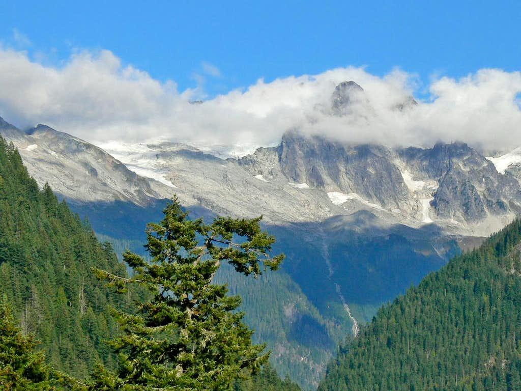 Eldorado Peak from the Valley