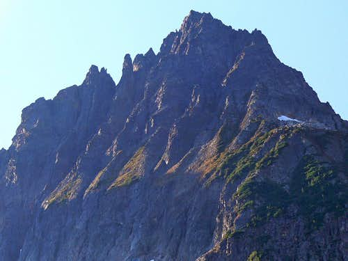 Cascade Peak's North Face