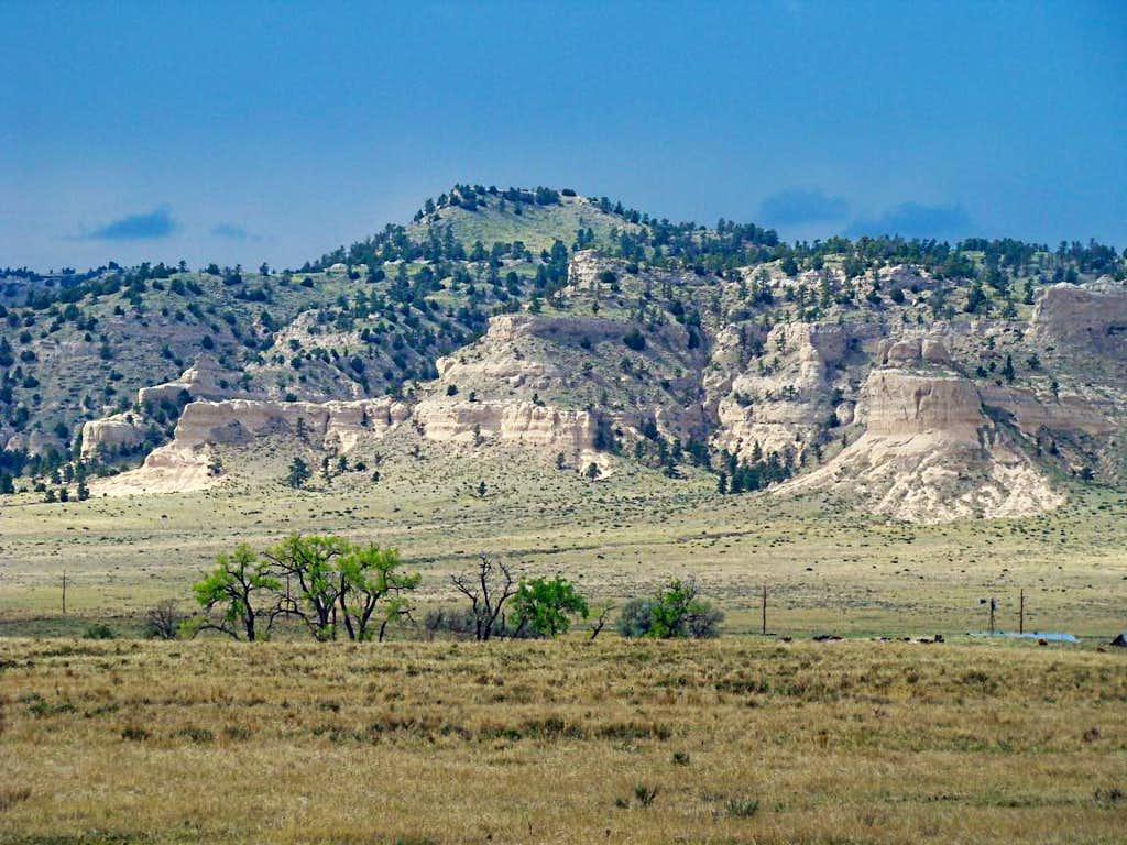 Hogback Ridge Colorado Plateau near Farmington New Mexico
