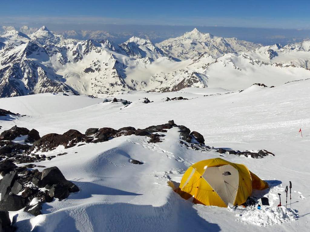 Mt Elbrus - Camp 2 (13,700')