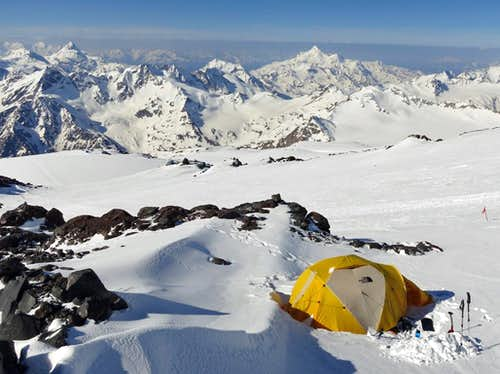Mt Elbrus - Camp 2 (13,700 )