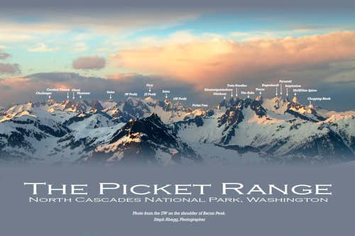 Picket Range, Labeled Panorama v1