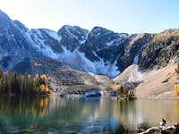 Tamarack Lake, with Warren...