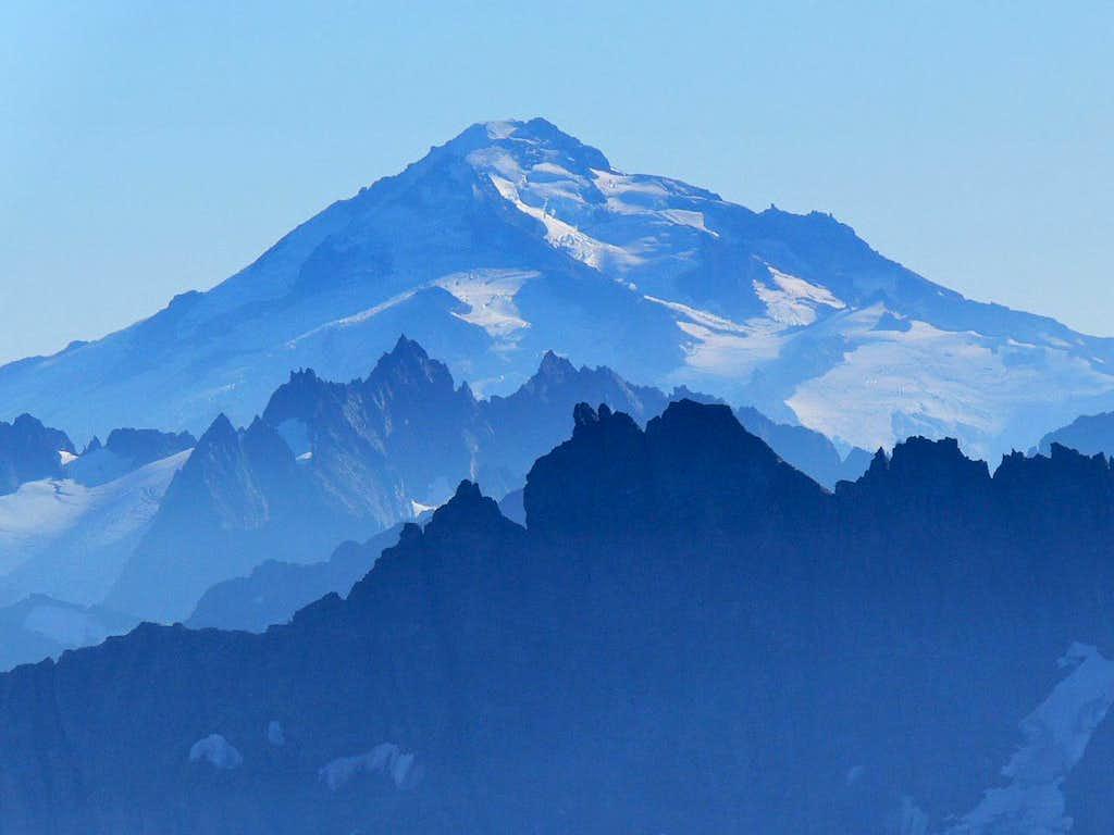 Glacier Peak with a Blue Haze