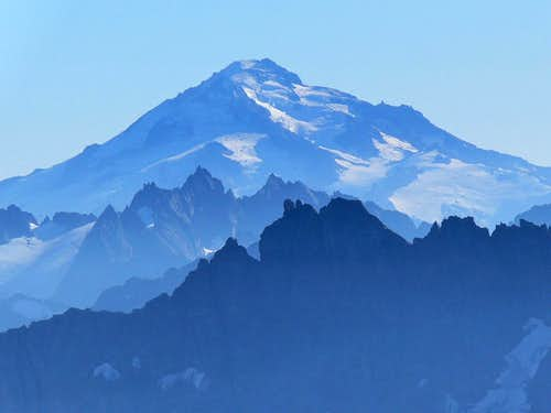 Glacier Peak with a Blue Haze